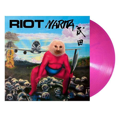 Riot - Narita Pink/Blue Marble Vinyl LP