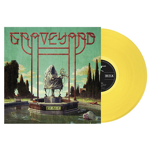 Graveyard - Peace Yellow Vinyl LP