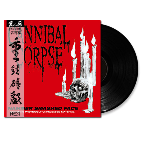 Cannibal Corpse - Hammer Smashed Face Black Vinyl Ltd 200