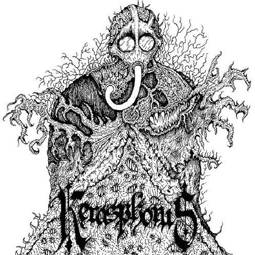 Kerasphorus - Necronaut + Cloven Hooves At The Holocaust Dawn CD