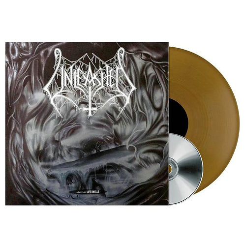 Unleashed - Where No Life Dwells Golden Vinyl LP