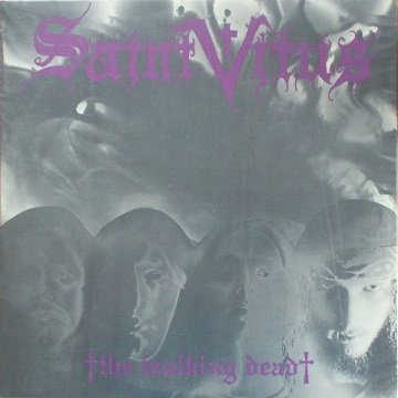Saint Vitus - Walking Dead Black Vinyl LP