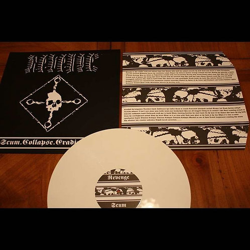 Revenge - Scum Collapse Eradication White Vinyl LP