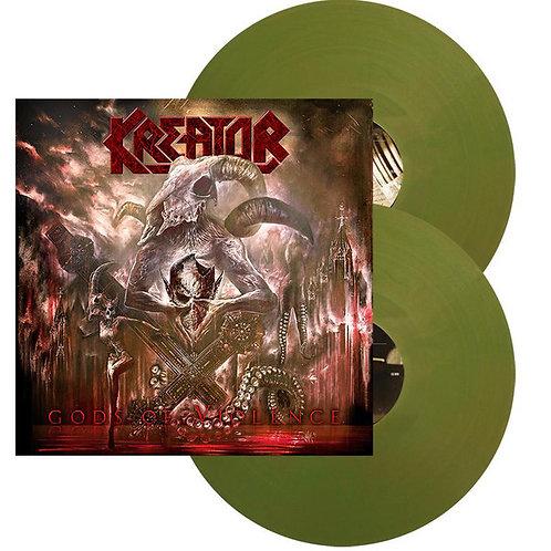 Kreator - Gods Of Violence Green Vinyl 2LP