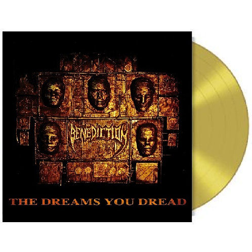 Benediction - The Dreams You Dread Golden Vinyl LP