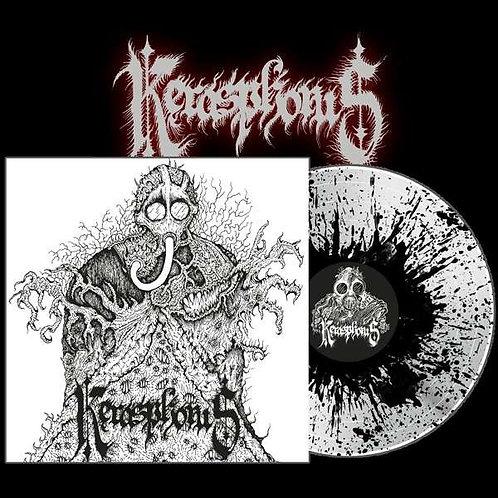 Kerasphorus - Necronaut +Cloven Hooves At The Holocaust Dawn Splatter Vinyl LP
