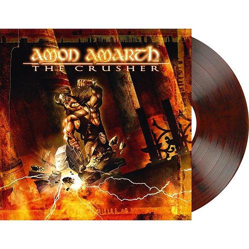 Amon Amarth - The Crusher Orange/Brown Marble Vinyl LP
