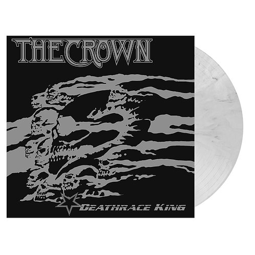 The Crown - Deathrace King White/Black Marble Vinyl LP