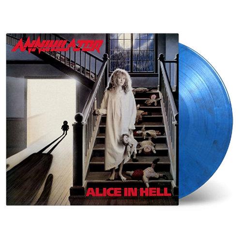 Annihilator - Alice In Hell Blue Marble Vinyl LP