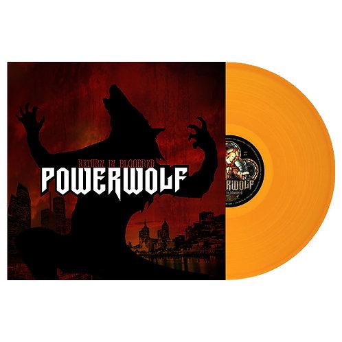 Powerwolf - Return In Bloodred Orange Vinyl LP