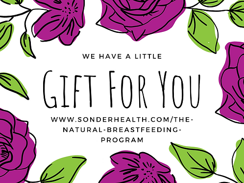 The Natural Breastfeeding Program + Clinic Coupon Gift Certificate Bundle
