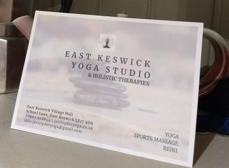 East Keswick Yoga Studio & Sports Massage Clinic