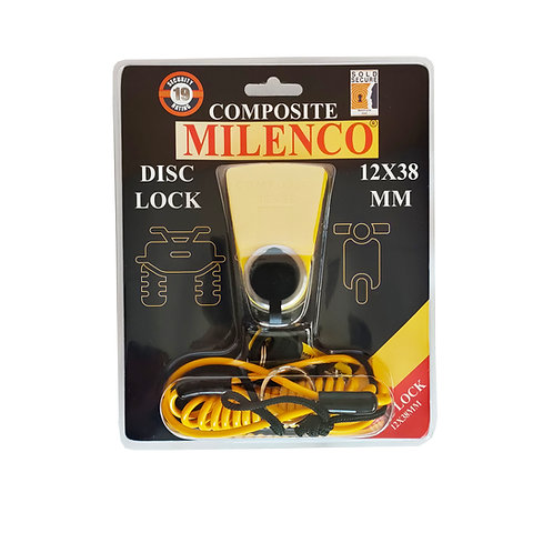 Composite Disc Lock 12mm x 38mm