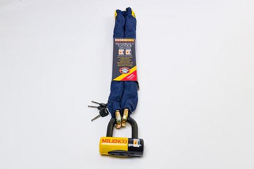 Dundrod + U Lock & 14mm Chain 1.4m Long