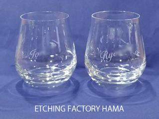 幅広く楽しめるグラス「シャトーバカラ タンブラー ペア」です