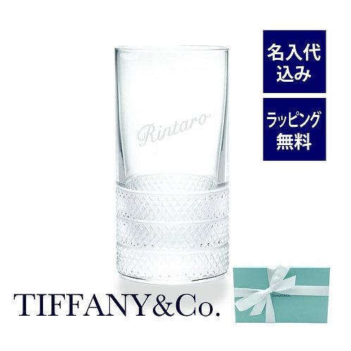 ティファニー/Tiffany ダイヤモンド ポイント ハイボール グラス 名入れ彫刻代込み 誕生日 還暦 お祝い 名前 プレゼント 長寿祝 グラス タンブラー