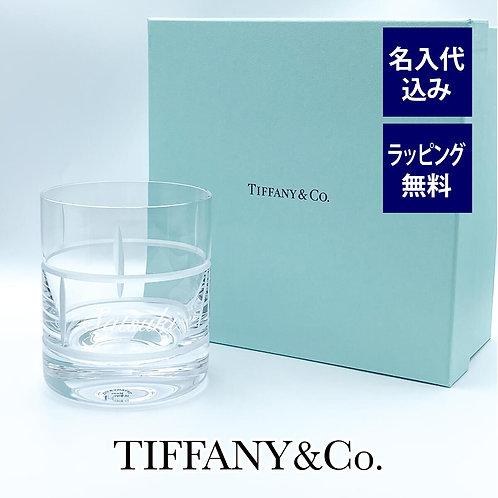 ティファニー Tiffany モダン バンブー クリスタル シングル オールドファッションド グラス 名入れ彫刻代込み 名入れ ギフト プレゼント 誕生日