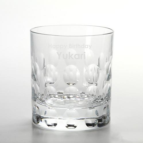 ダ・ヴィンチクリスタル バブル オールドファッション,名入れ,グラス,ロックグラス,名入れギフト,プレゼント,