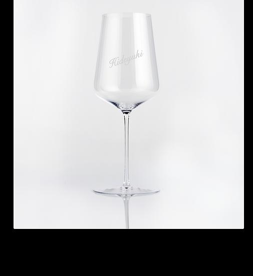 【名入れ彫刻】ザルトzalto ユニバーサル/ワイングラス 正規箱付き
