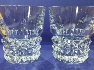 神秘的な名前「ルクソール」のペアグラス