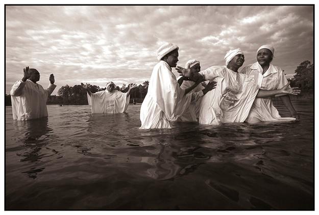 Baptism at Camel Lake