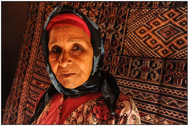 Berber, Moroccan Sahara