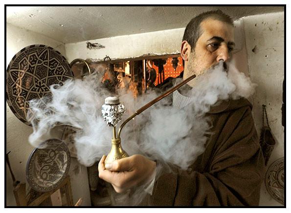 Hooka Smoker, Fez