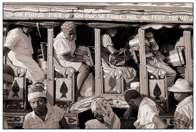 Bus to Les Cayes, Haiti