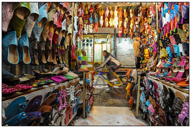 Shoe Kiosk, Marrakech