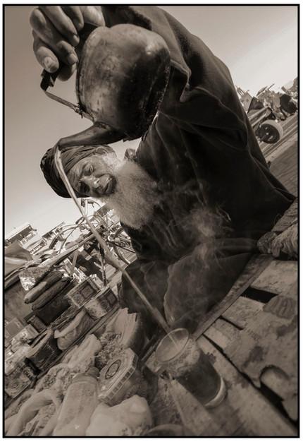 Tea Seller, Marrakech