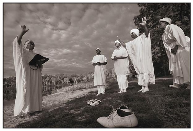 Pre-Baptism Ceremony, Camel Lake