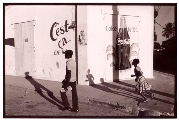 Coke Mural, Cap Hatien, Haiti