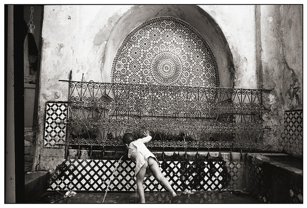 Fountain, Fez Souks