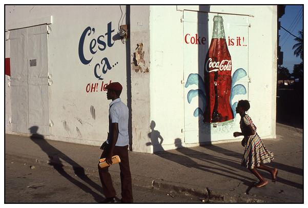 Coke Mural, Cap Haitien