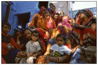 Bridal Party, Jodhpur, India