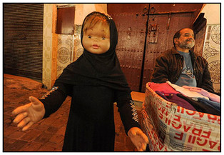 Children's Clothes Merchant, Marrakech