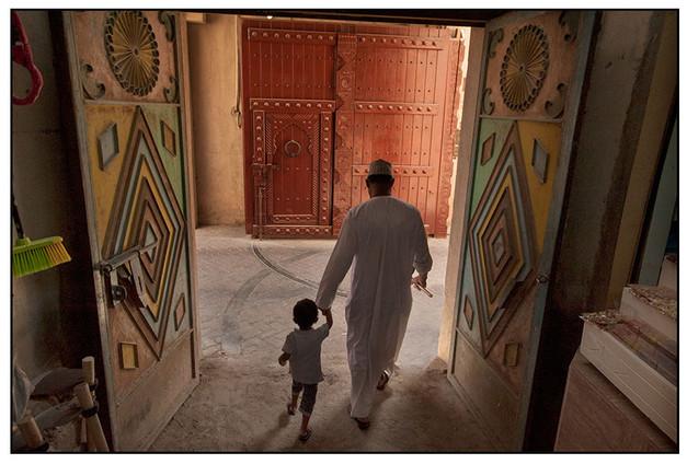 Doorway, Muscat, Oman