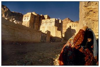 Tribal Girl, Shibam, Yemen