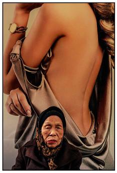Chanel Poster, Street Peddler, Vietnam