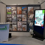 Econoloft stand at exhibition