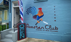 Rooster Club Mural