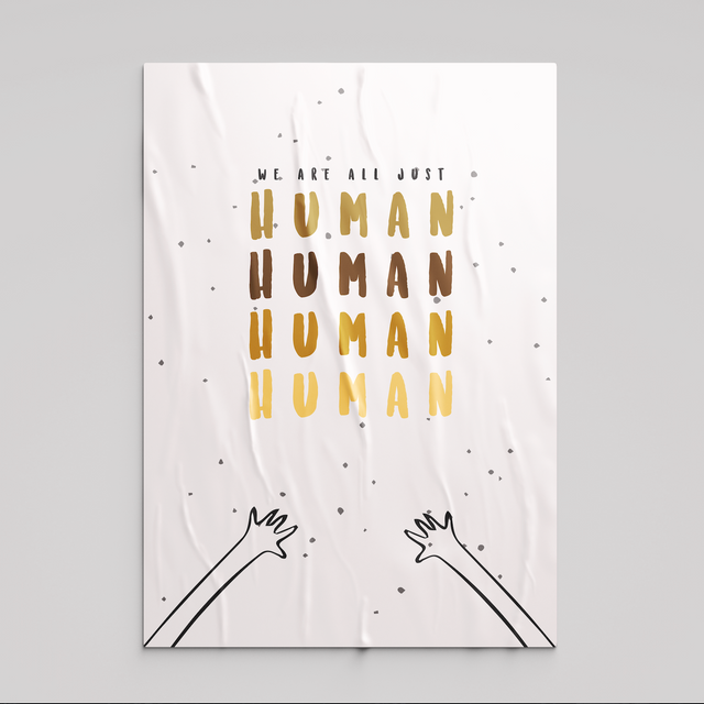 Just Human Poster