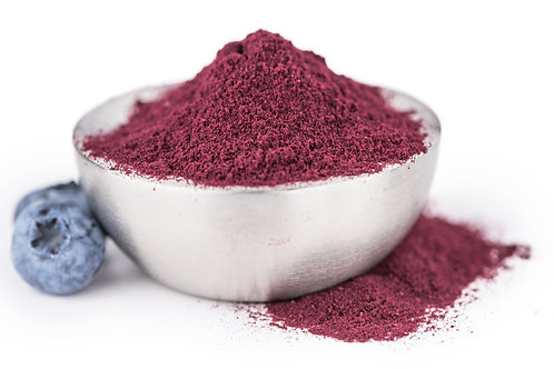 Organic Blueberry Powder - Freeze Dried Fruit Powder made from Blueberries - 100