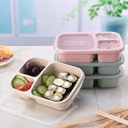 Lunch Box 3 Compartment