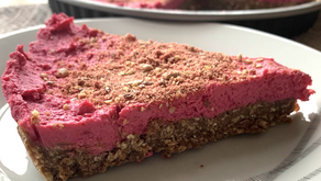 VALENTINE'S SPECIAL: PINK PROTEIN CHEESE CAKE