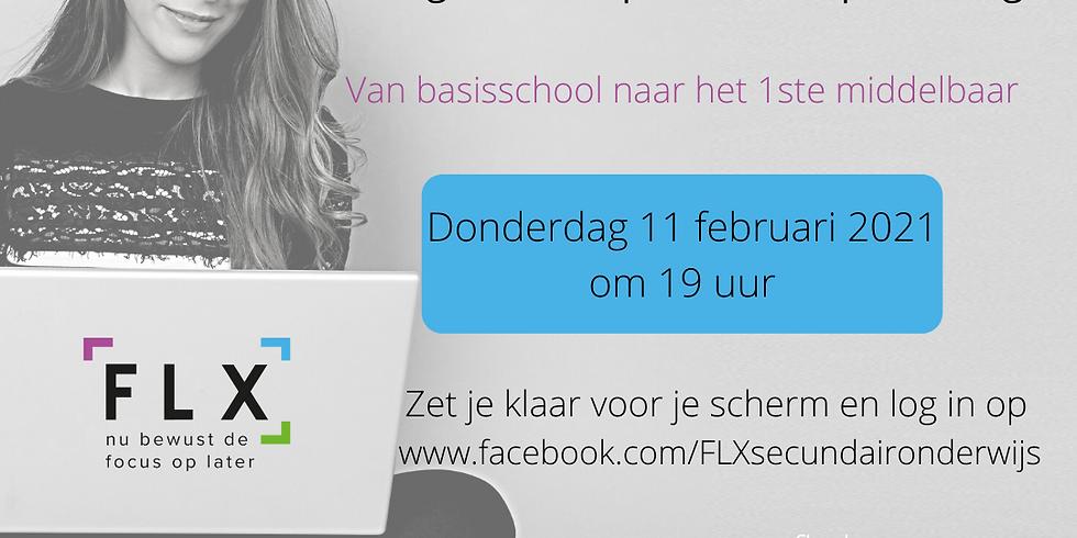 Virtuele Openlesavond Secundair Onderwijs