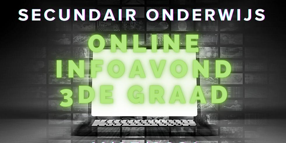 Online infoavond 3de graad
