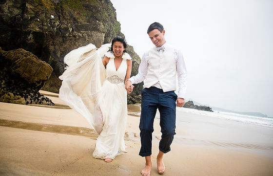 David Jones Photography | Gallery | Wedding Photographer | Lien and Graham | Wedding Day | Lusty Cove | Cornwall