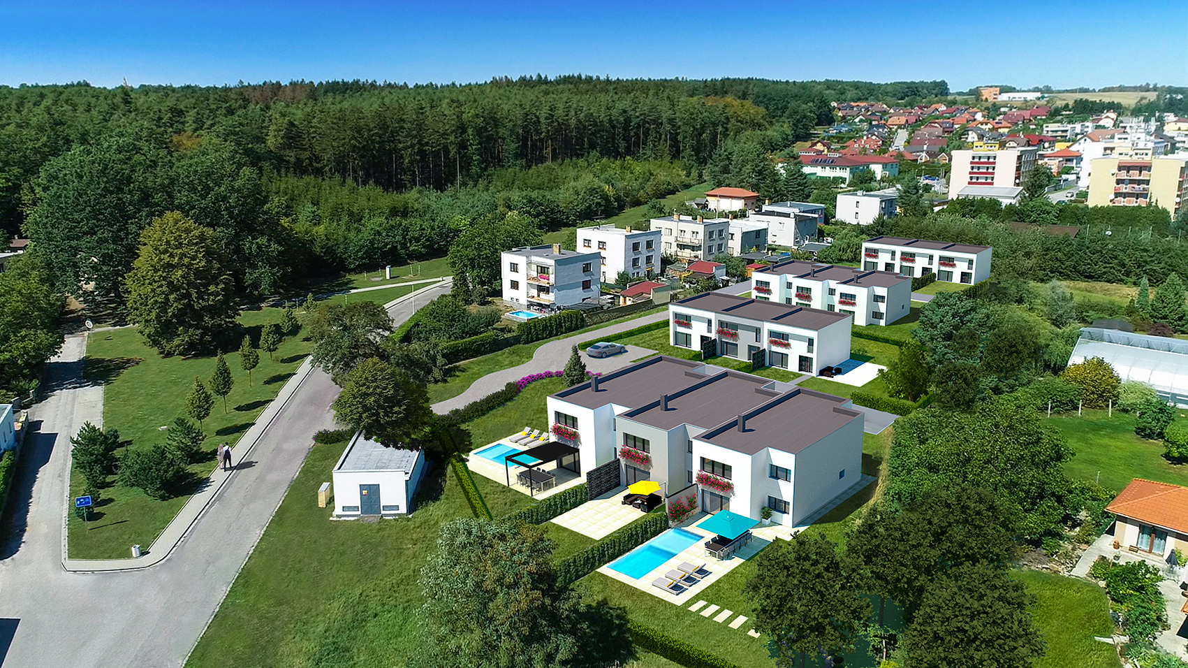 Lokalita Borek u Českých Budějovic