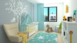 Borek RD Klasik dětský pokoj